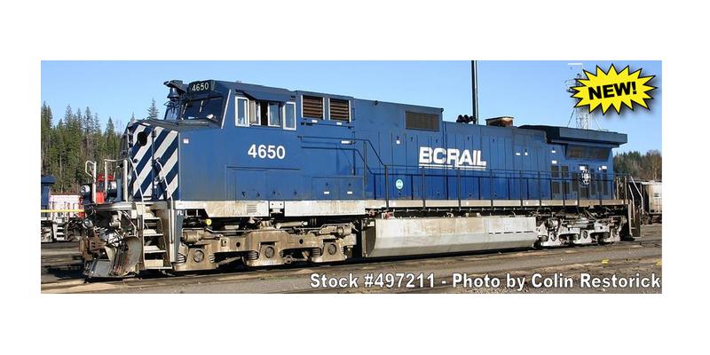 BC Rail C44-9W