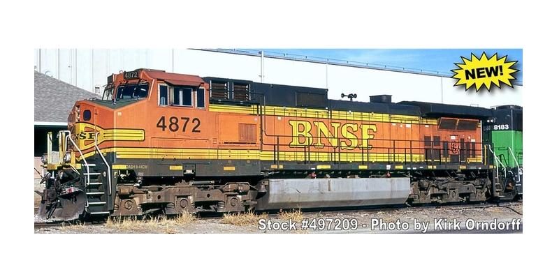 BNSF Dash 9 H2