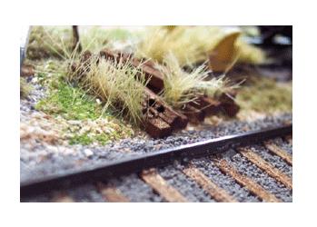 Scenic Rail Ties
