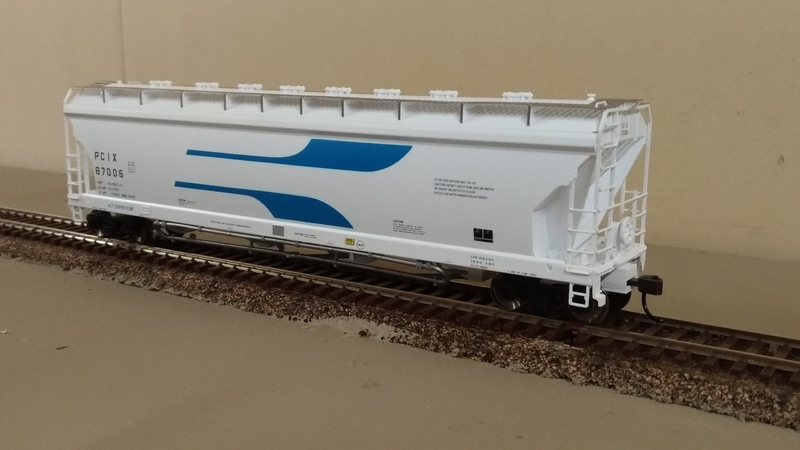 Atlas Pressure FLow Hopper Car PLIC