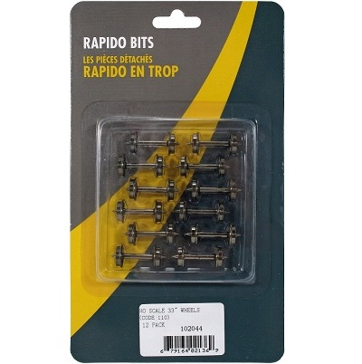 Rapido Wheels 33 inch - Code 110 - 12 pack - 102044a
